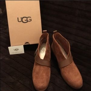 New UGG WrightBelted Booties